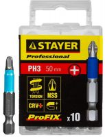"Биты STAYER ""PROFESSIONAL"" Phillips ProFix 26203-3-50-10"