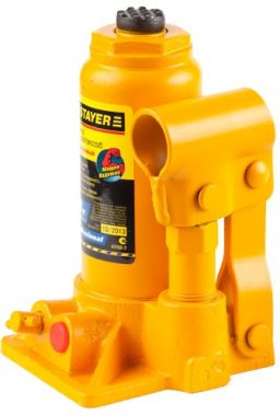 Домкрат гидравлический бутылочный Stayer Profi 43160 - фото 3